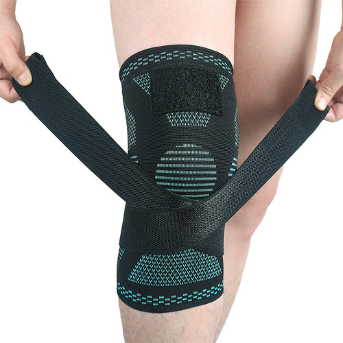 Sports Kneepad Men Pressurized Elastic Support Fitness Gear