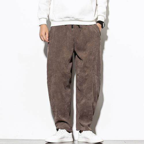 New Corduroy Casual Trendy Men's Wide Leg Pants