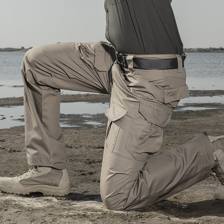 Tactical IX2 Waterproof Train Pockets Men Pants