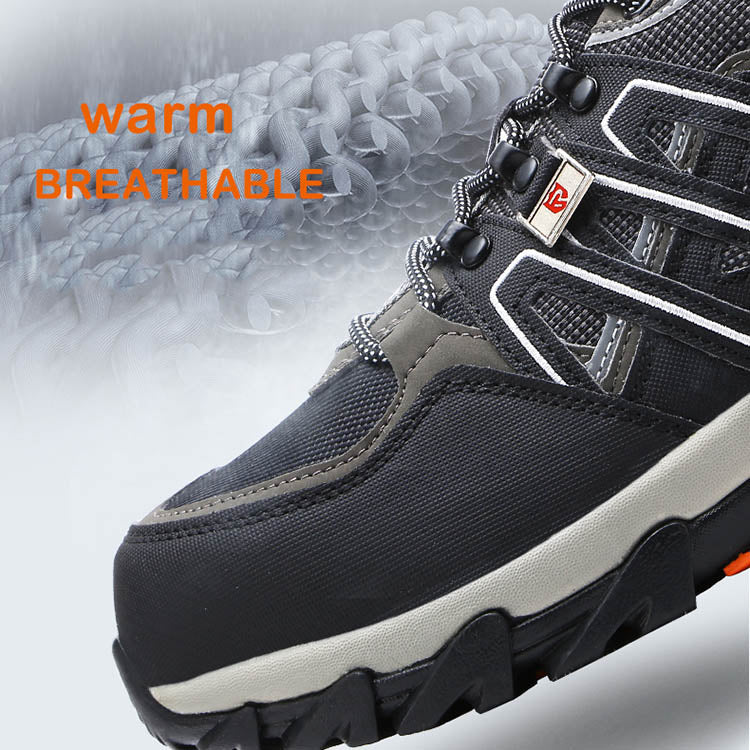 Mesh Breathable Anti-smashing Stab-resistant Rubber Wear-resistant Non-slip Safety Shoes