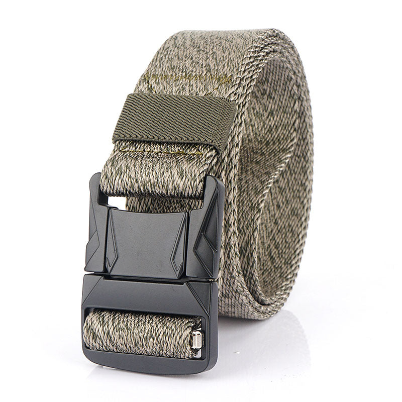 Fashion Metal Buckle Nylon Belt