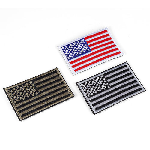 American flag embroidery Multipurpose Velcro Arm Jacket Sticker