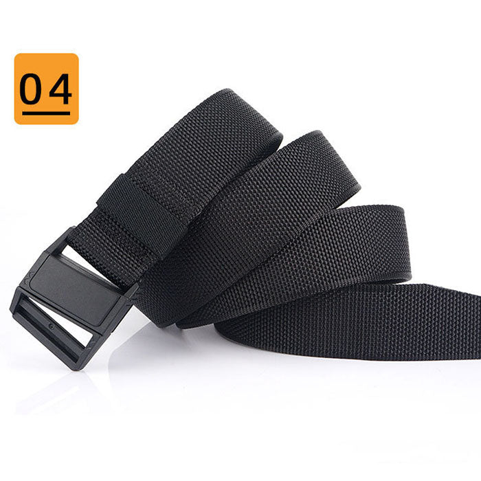 Lightweight Plastic Magnetic Buckle Outdoor Belt