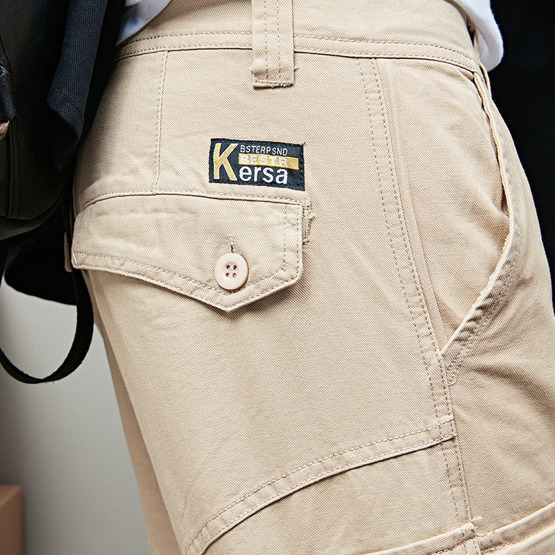 Loose Pocket Men's Cargo Shorts