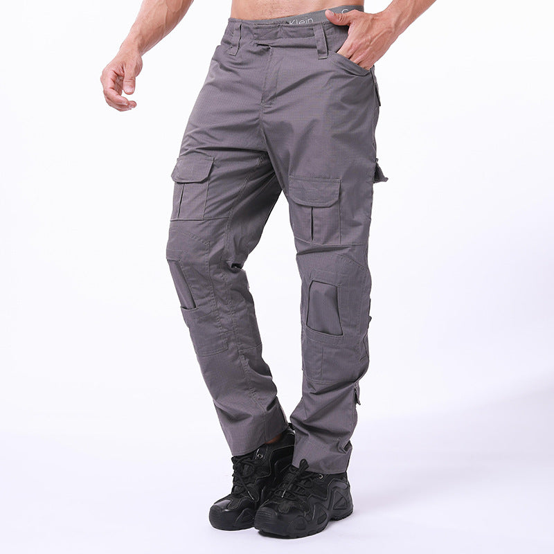 Outdoor Wear-resistant Military Fans Thicken Men's Pants