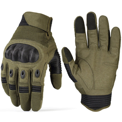 Tactical Military Touch Screen Safety Full Finger Men Gloves