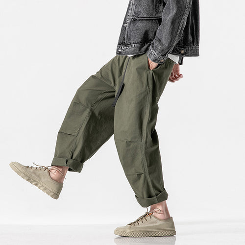 Men's Cotton Comfy Baggy Vintage Casual Pants
