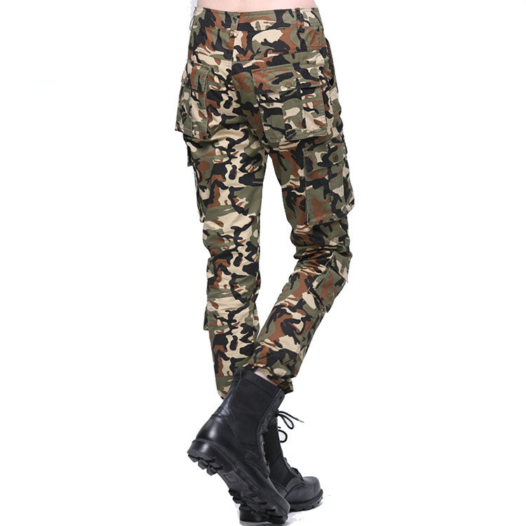 Women's Outdoor Casual Camouflage Pants