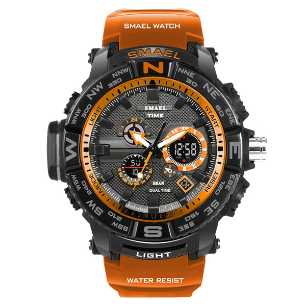 Classic Fashion Sport Waterproof Men Wristwatch - KINGEOUS