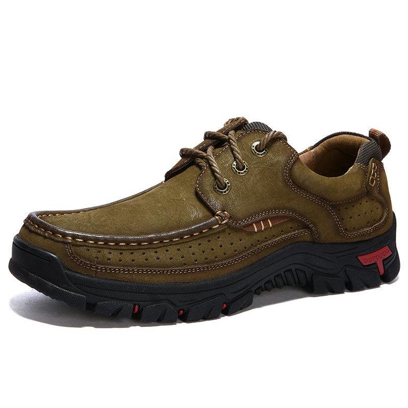 Outdoor Supportive and Comfortable Orthopedic Lace-up Men's Shoes