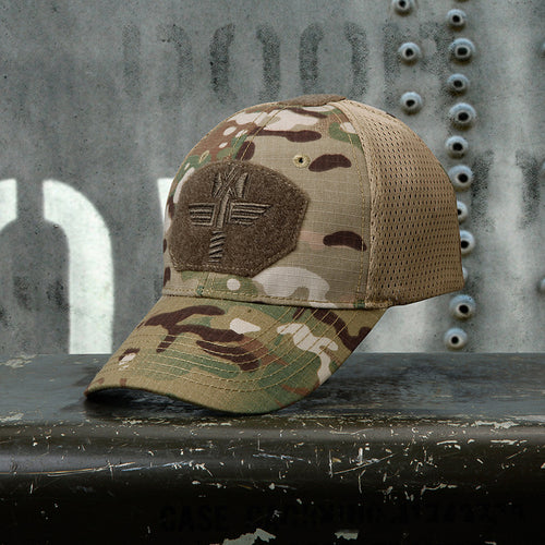 Capricorn Camouflage Tactical Hunting Mesh Men's Baseball Cap