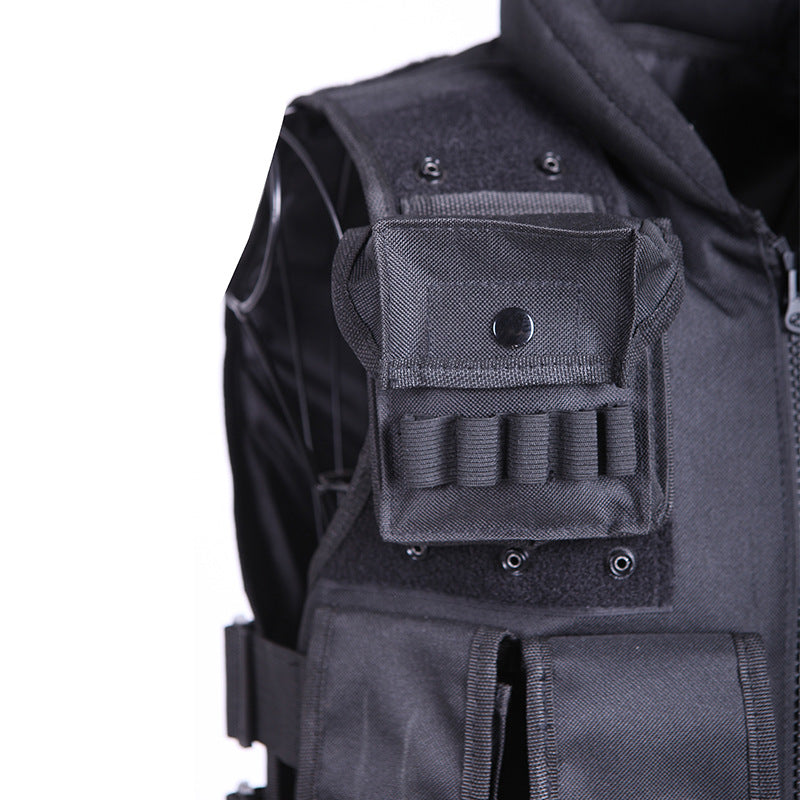 Tactical Outdoor Equipped CS Function Multi-pocket Vest