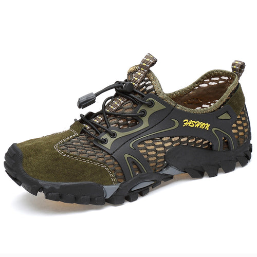 Climbing Breathable Suede Mesh Quick-dry Shoes