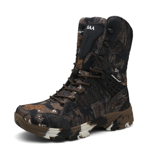 Outdoor Camo Non-slip Desert Men's Boots
