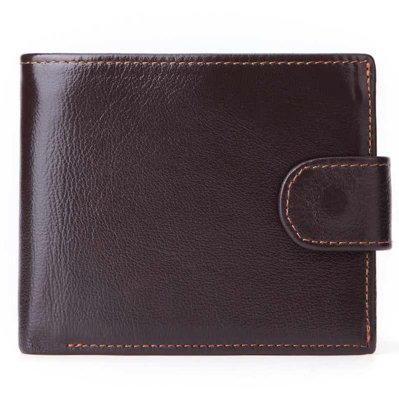Fashion Multi-function Leather Coin Men's Wallet