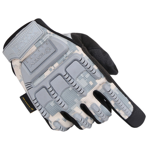 Scratch-proof Outdoor Riding Shooting and Hunting Tactical Safety Men Gloves