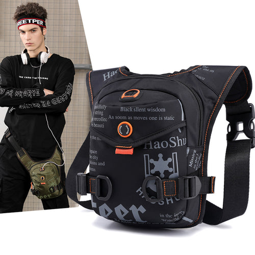 Outdoor Riding Multi-function Sports Leg Bag Men's Waist Bag