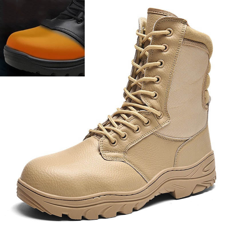 Outdoor Steel Head Anti-puncture Men's Boots