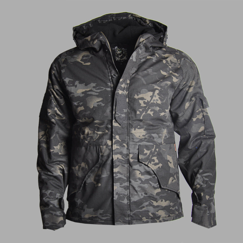 G8 Camo Thicken Waterproof Warm Men's Jacket