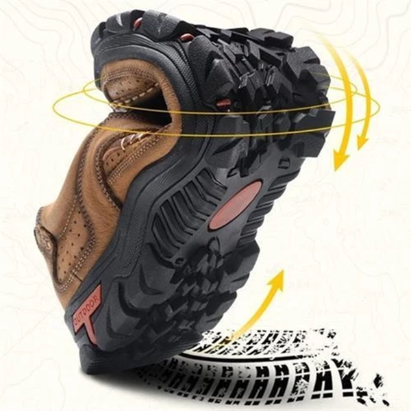 Supportive and Comfortable Orthopedic Soles Men's Outdoor Shoes