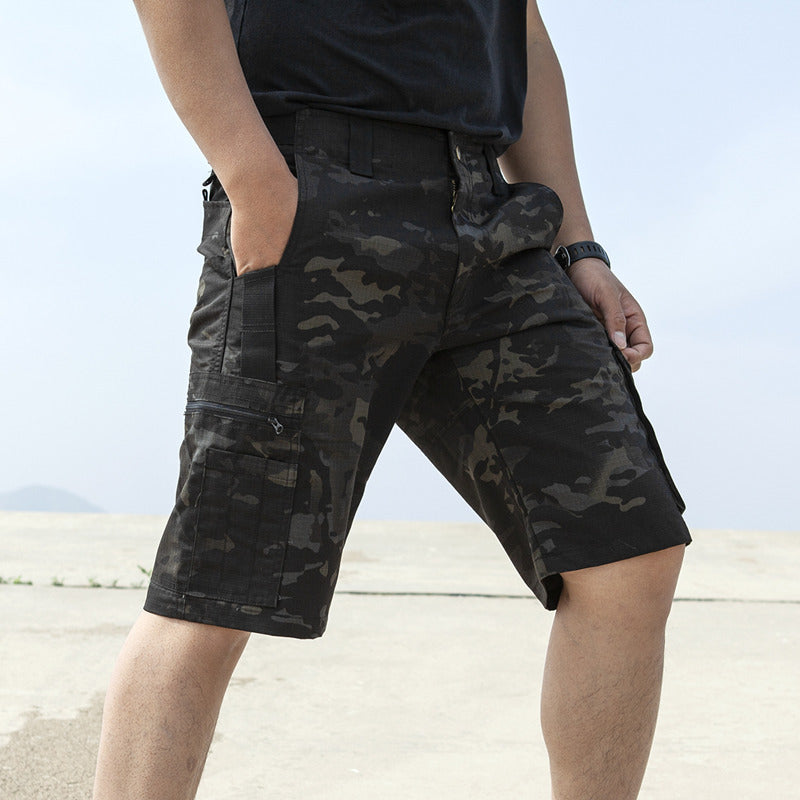 Outdoor Hiking Waterproof Men's Tactical Shorts