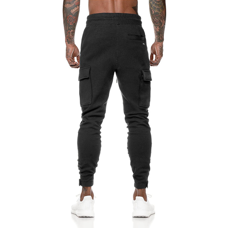 Simple Cotton Sports Fitness Men's pants