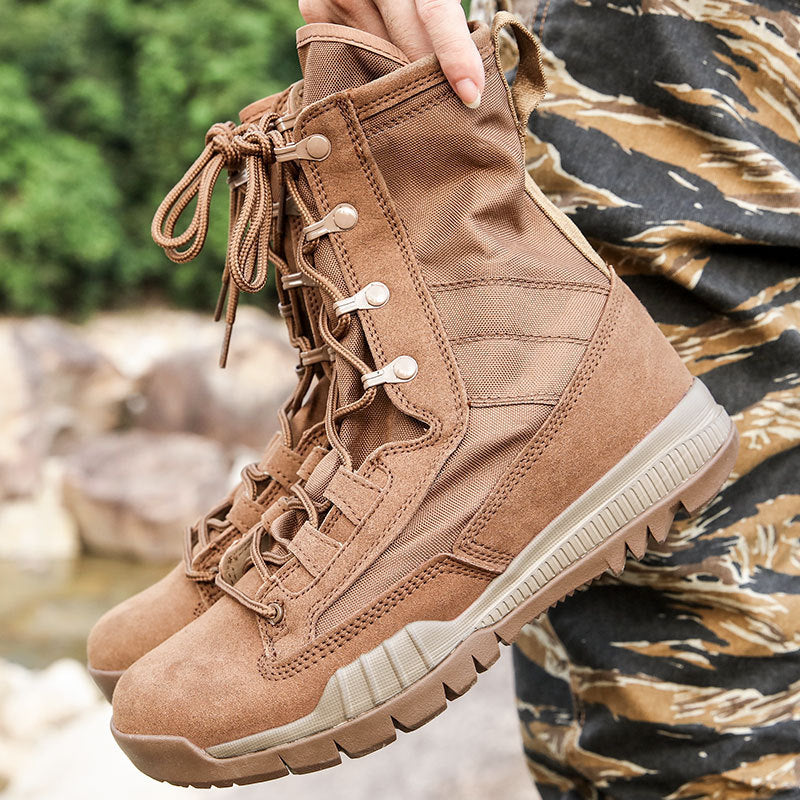 Army Tactical Military Non-slip Desert Ankle Men's Boots