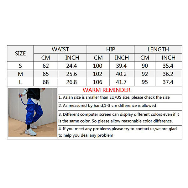 Thicken Velvet Ankle Banded Thicken Women's Couple Pants
