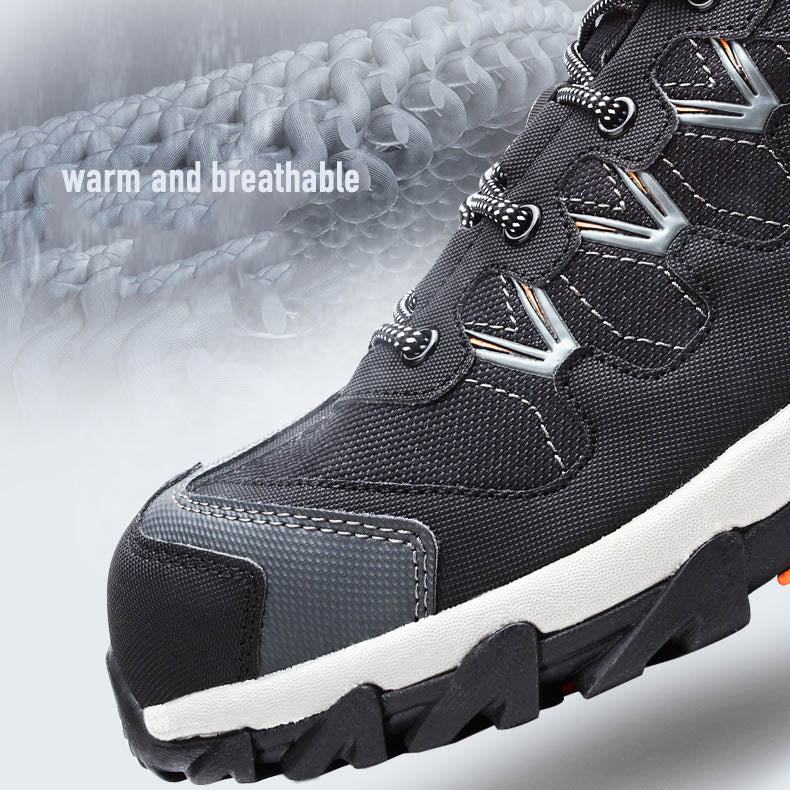 Breathable Anti-smashing and Puncture Site Welder Safety Shoes - KINGEOUS
