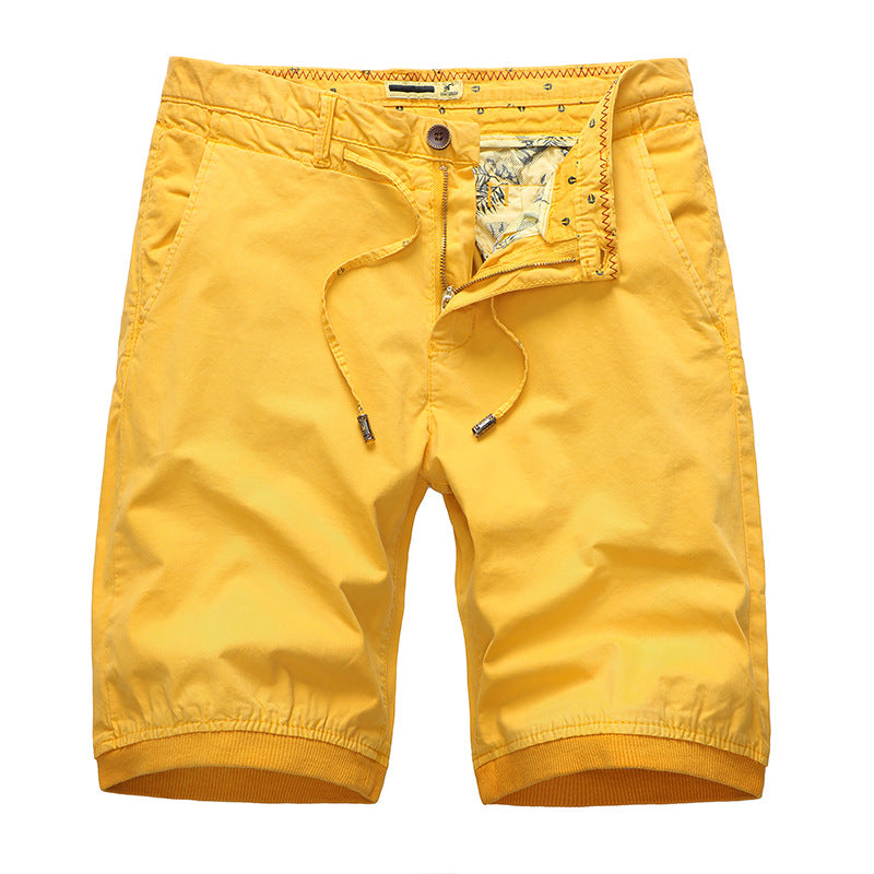Simple Classic Tied Rope Men's Shorts