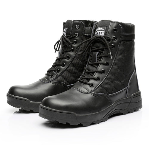 Tactical Military Desert Waterproof Work Safety Climbing Ankle Men's Boots