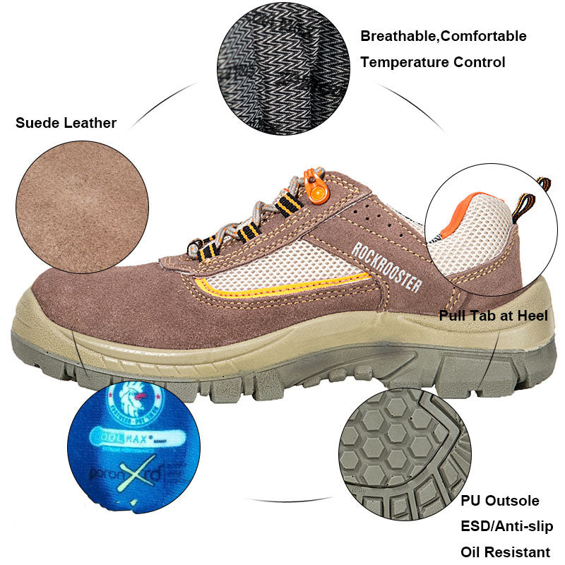 Outdoor Worker Anti-fatigue Men's Safety Shoes