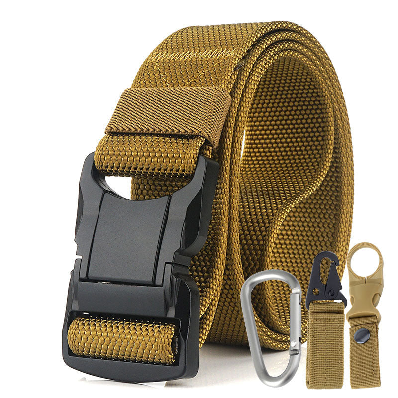 Nylon Outdoor Waist Belt Three Pieces Set