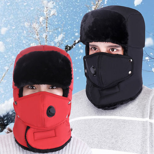 Outdoor Cycling Thicken Ear protection Warm Men and Women Hat
