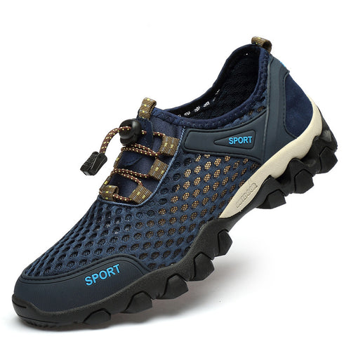 Causal Mesh Breathable Men's Outdoor Shoes