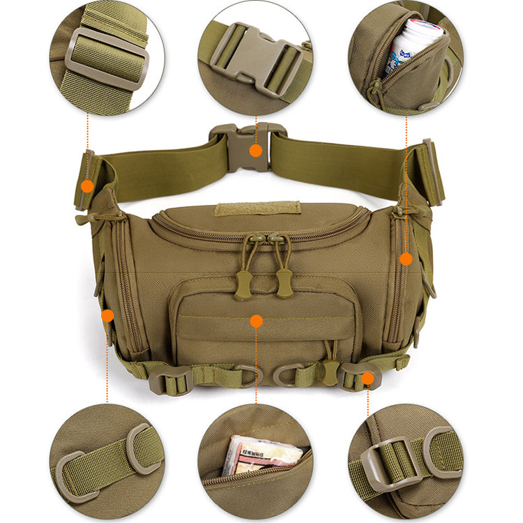 Outdoor Multifunctional Camouflage Tactical Waist Bag