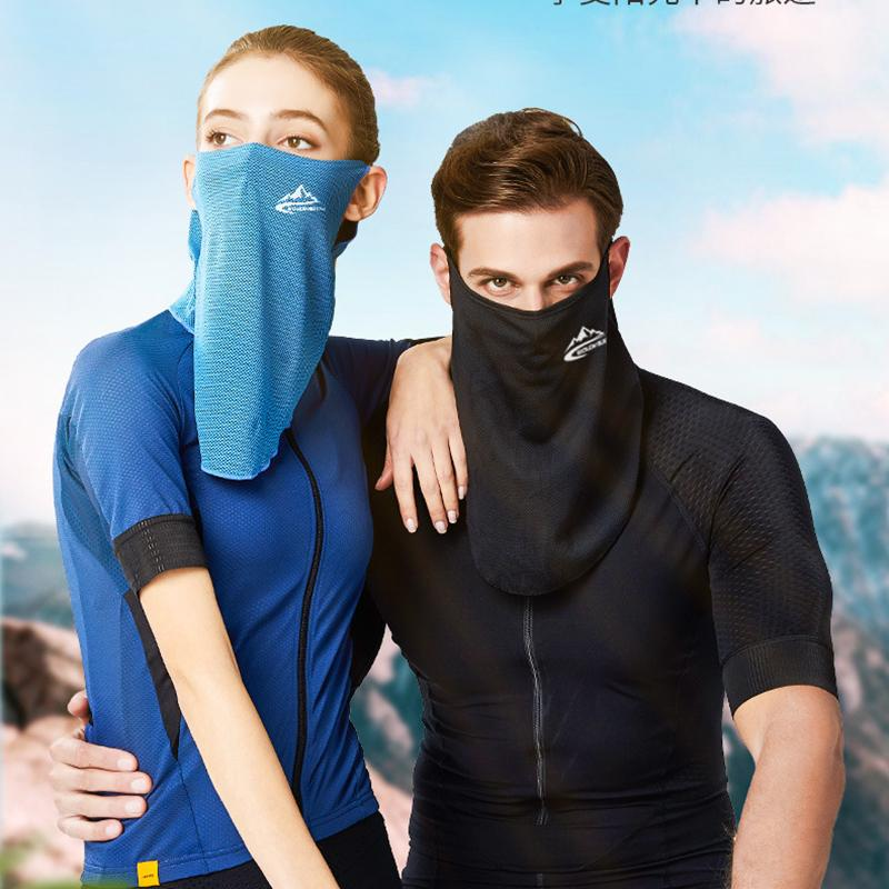 Breathable Riding Windproof Men and Women Half Face Cover