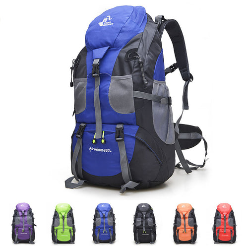 50L Camping Climbing Mountaineering Hiking Men and Women Backpack