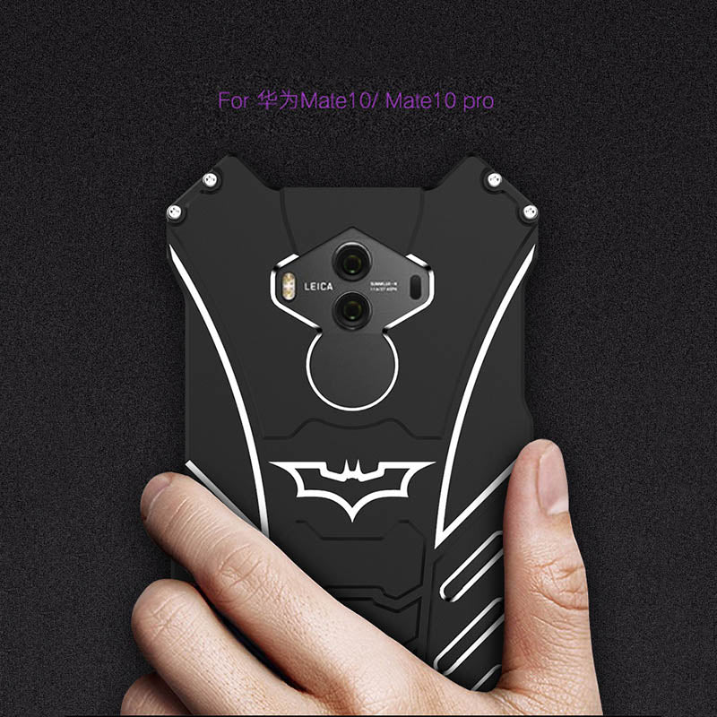 Batman Designs Around Protection Aircraft-Grade Aluminum Phone Case for Hua Wei Mate 10/Pro Mate 9 - KINGEOUS