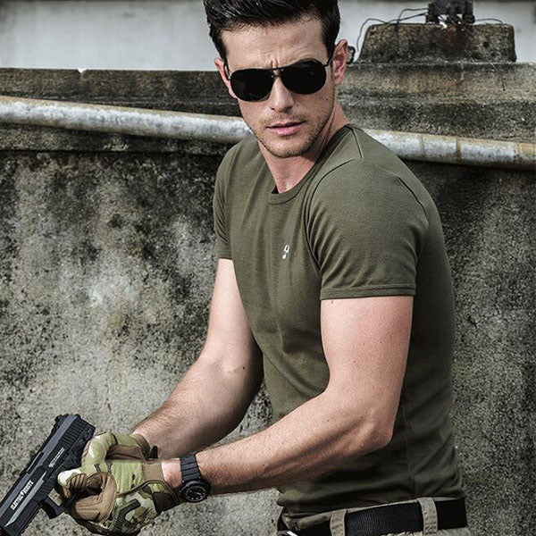 Archon Series High Quality Special Forces Tactical Stretch T-Shirt - KINGEOUS