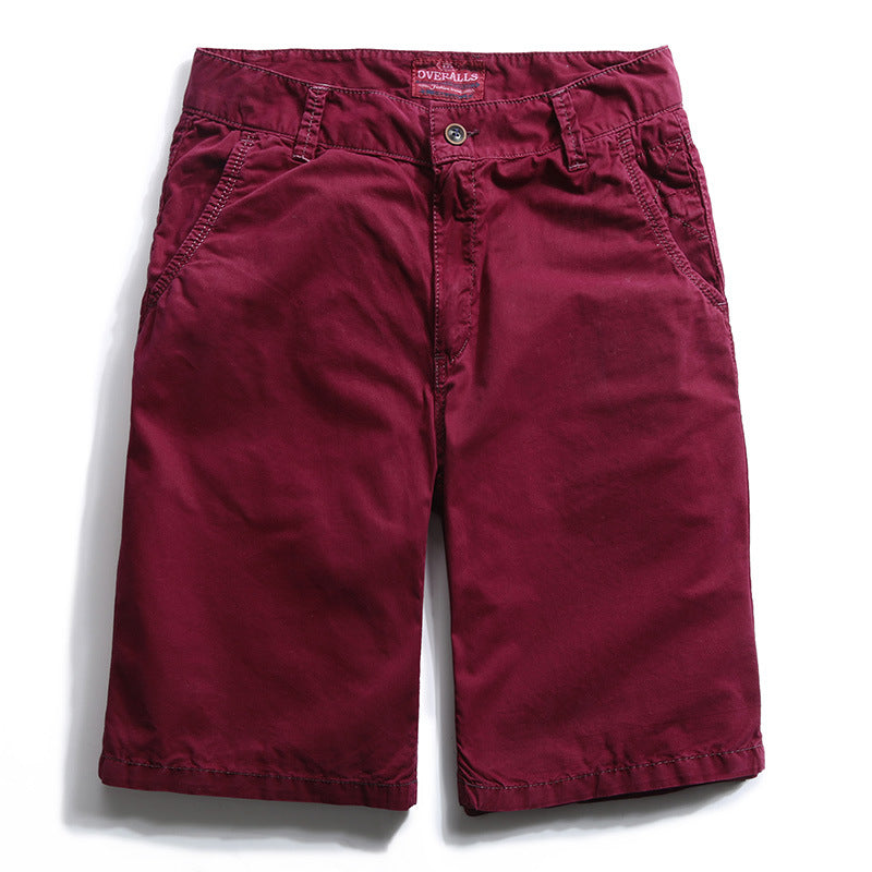 Casual Loose Outdoor Multi-pocket Men's Shorts - KINGEOUS