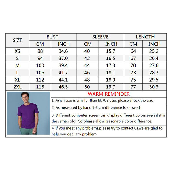 Solid Color Round-neck Short Sleeve Bottoming Men's T-shirt