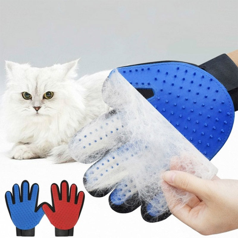 Gentle Deshedding Glove for Cat