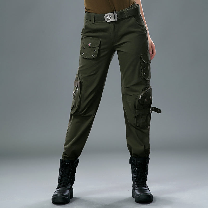 Military Multi-pocket Adventure Women's Cargo Pants