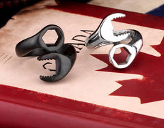 Stainless Steel Biker Wrench Ring