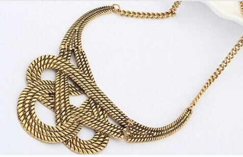 Gold Or Silver Plated Luxury Choker Necklace
