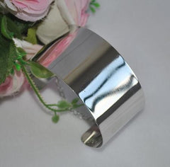 Luxurious Gold/Silver Plated Cuff Bracelet