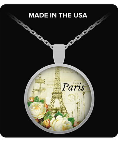 Paris Lovers Pendant