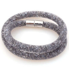 Stardust Mesh (Magnetic Wrap) Chain Bracelet - 19 Color Options