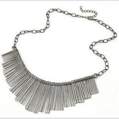 Tassel Choker Necklace - 3 Color Options